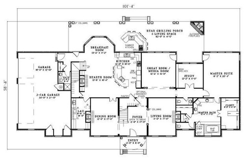 Most Efficient Floor Plan Free Cascadia Center For