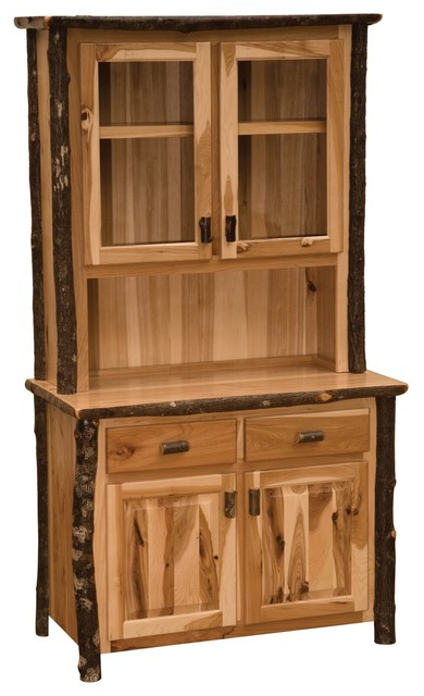 Hickory 48 Quot Buffet Amp Hutch Espresso China Cabinets And