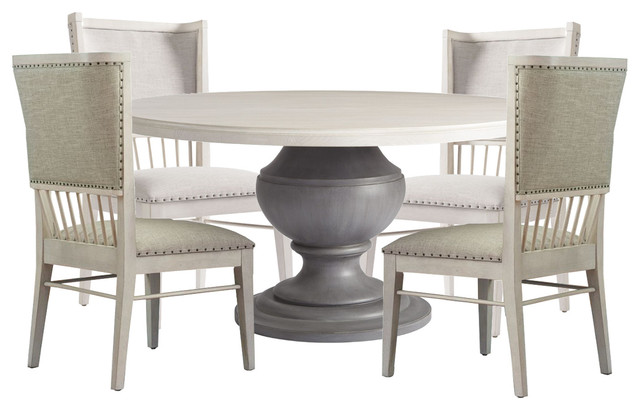 Paula Deen Home Bungalow 5pc Round Dining Table Set Bluff 626