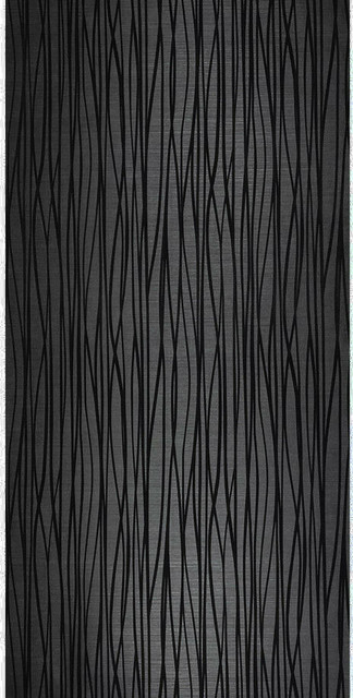Flocked Wallpaper Black Textured Flocking Velvet Lines Contemporary Wallpaper By Wallcoverings Mart