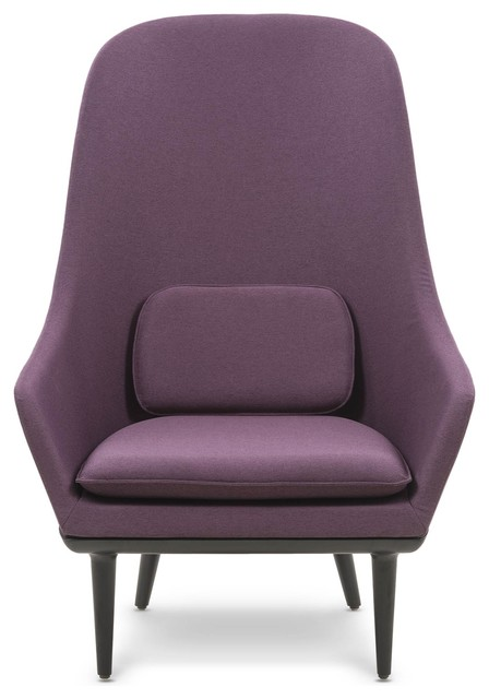 Lunar High Back Chair, Purple