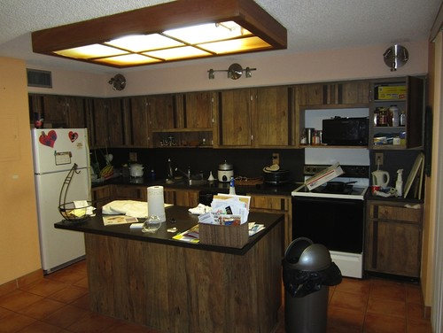 How to redecorate this late 70s kitchen on a budget for Kitchen design 70s