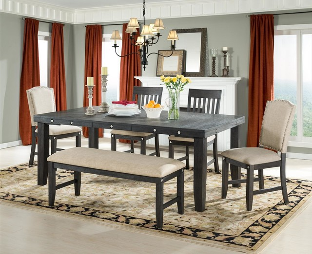 Marseille Provence Dining Table Contemporary Dining Tables