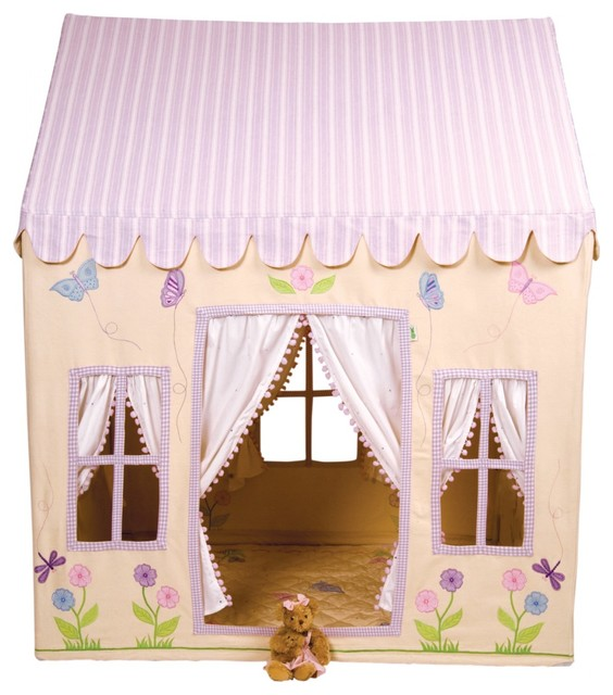 WinGreen Large Cotton Playhouse - Butterfly Cottage