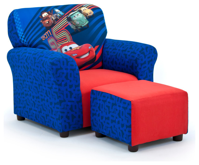 Fabulous Disneys Cars 2 Club Chair And Ottoman Set Alphanode Cool Chair Designs And Ideas Alphanodeonline