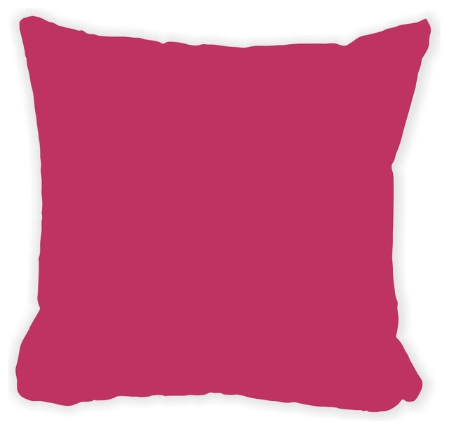 Fuschia Modern Pillows : Fuschia Fall Winter Microfiber Throw Pillow - Contemporary - Decorative Pillows - by Rikki ...