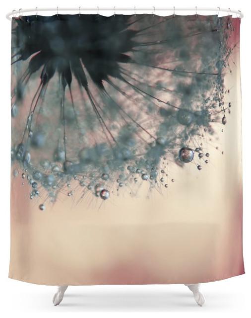 society6 society6 dandelion shower curtain shower
