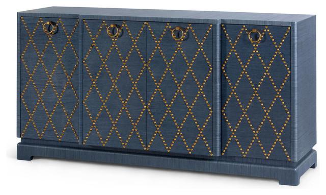 Bungalow 5 Janak Large Cabinet, Navy Blue.
