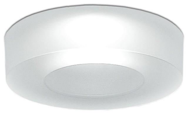 Iside 2 Led Recessed Lamp Satin White