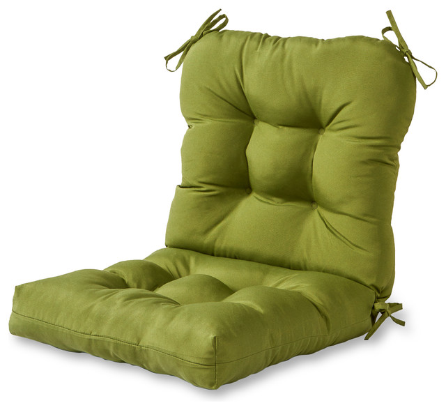 Outdoor Seat And Back Chair Cushion Contemporary Outdoor Cushions And Pil