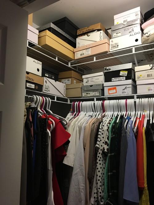 Closet Organization Help