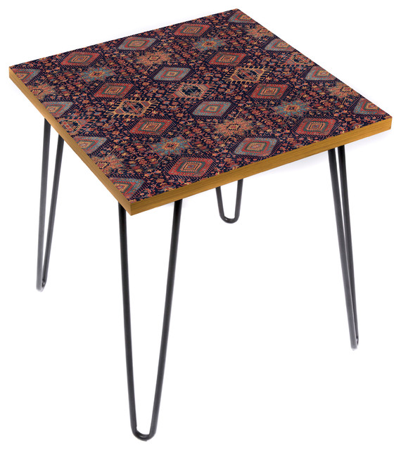 Karaja Burst Side Table Southwestern Side Tables And End Tables By Lamou