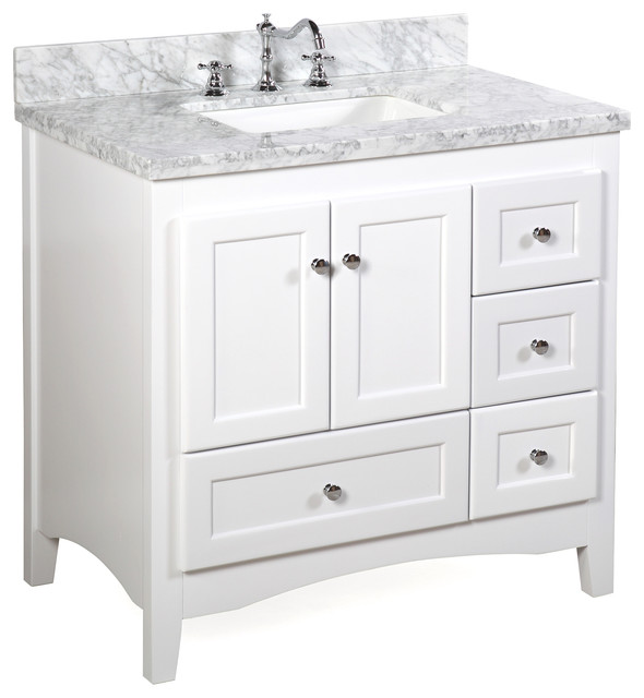 Kitchen bath collection abbey bath vanity bathroom for Console bathroom vanity