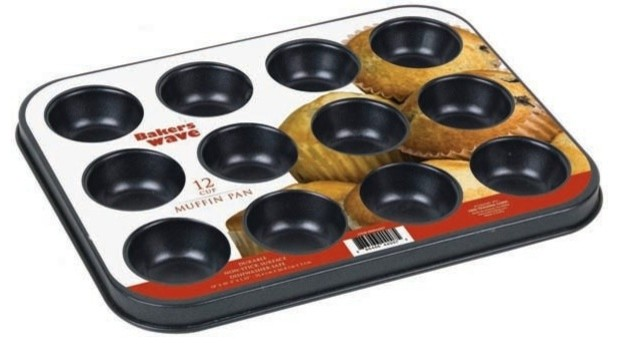 12 Piece Muffin Pan.