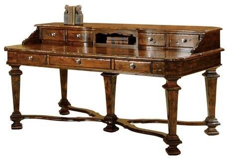 Hekman Rue De Bac Executive Desk Desks And Hutches By