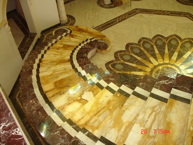 Marble Floor Designs traditional