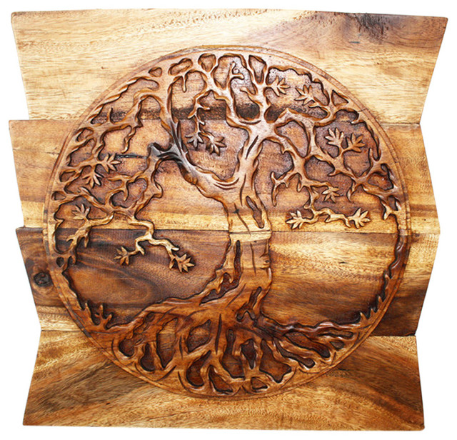 "Tree Of Life Wall Panel, 24""."