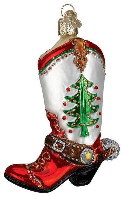 cowboy boot christmas ornaments