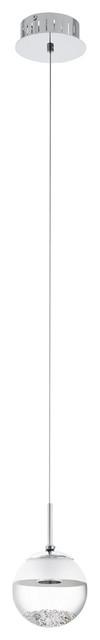 Montefio 1 Mini Pendant, Chrome.