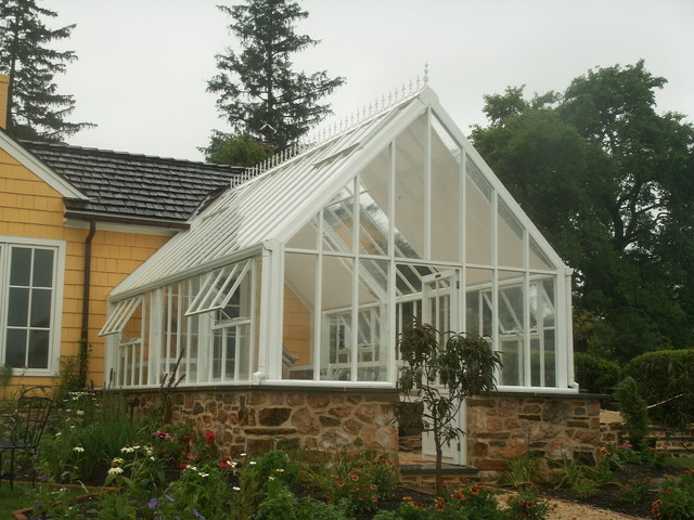House Plans With Greenhouse Attached Of English Greenhouse Victorian Glasshouse Attached To Home