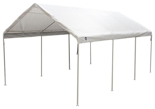 King Canopy Universal Canopy, 8-Leg, White, 12&x27;x20&x27;.