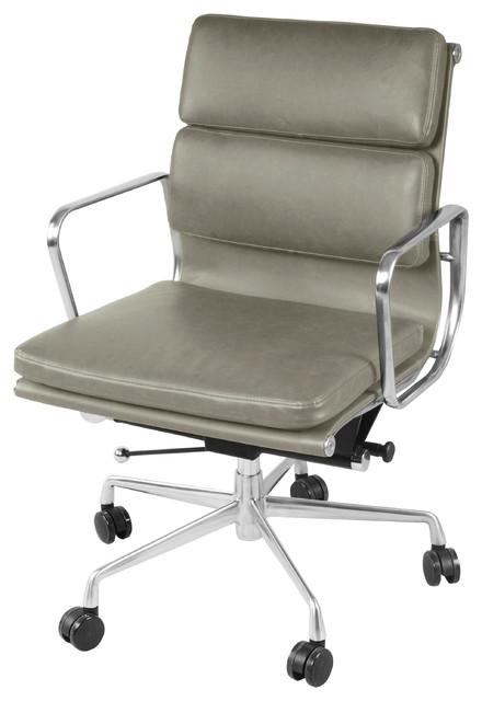 Marvelous Chandel Low Back Office Chair Vintage Smoke Download Free Architecture Designs Grimeyleaguecom
