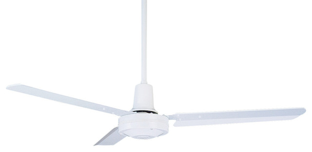 Emerson Hf948 Pro Series 48 Ceiling Fan, Appliance White.