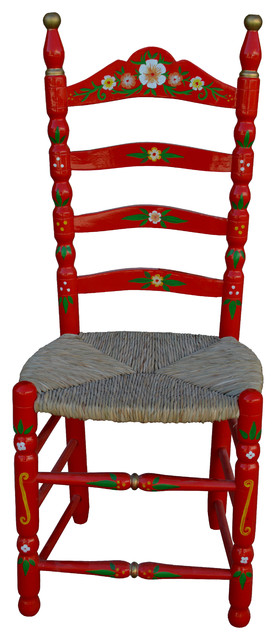Traditional Spanish Dining Chair Eclectic Dining Chairs