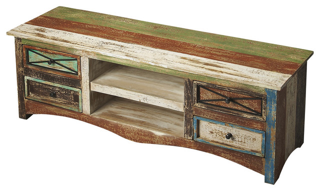 Butler Decatur Recycled Wood Entertainment Console
