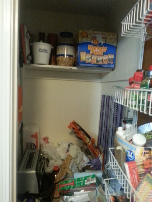 Need Help Turning An Unusable Closet Into A Kitchen Pantry