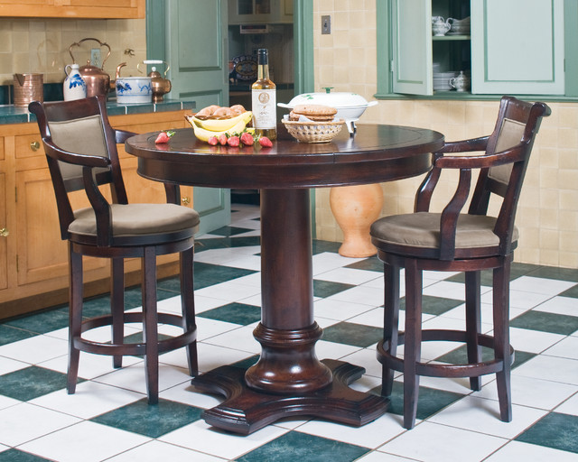 Bistro Dining Set Traditional Dining Room New York by King