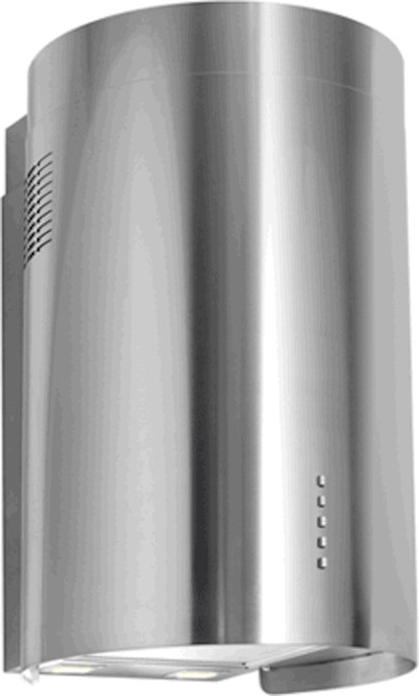 Nt Air Range Hood Wall Mounted Round Stainless Steel 16