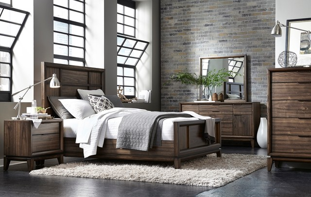 Urban Retro Collection Contemporary Bedroom Furniture Sets