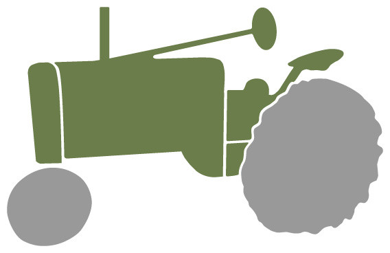 Tractor Stencil For Painting