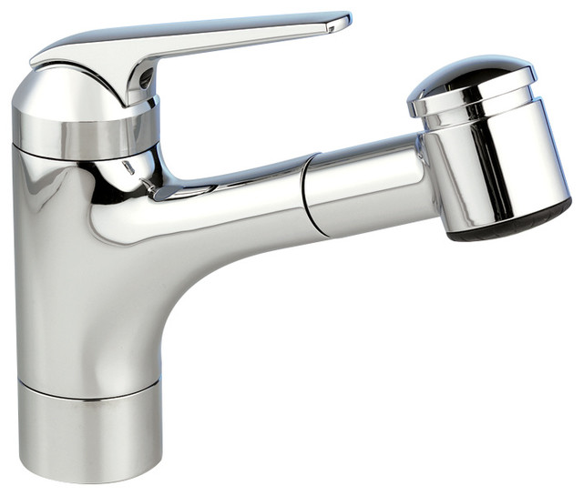 KWC Single-Lever Pull Out Kitchen Faucet, Chrome, 10.51\