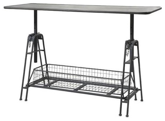 Henry Adjustable Metal Work Table.