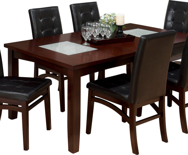 Jofran 863 72 Chadwick Rectangle Extension Dining Table with 2