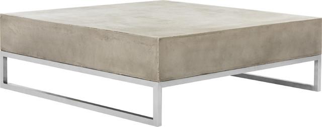 Safavieh Eartha Modern Concrete 11 42 Coffee Table Indoor Outdoor