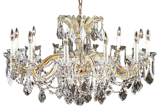 Maria theresa crystal chandelier for low ceilings traditional maria theresa crystal chandelier for low ceilings traditional chandeliers mozeypictures Image collections