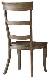 Hooker Furniture Sorella Ladderback Chair, Set of 2, Side