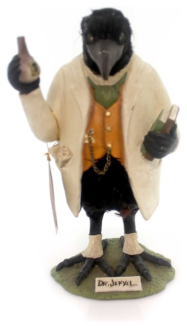 Halloween Dr. Jekyl Polyresin Hand Painted Mr Hyde Td5031.
