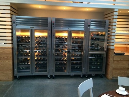 Commercial refrigeration/freezers in a home kitchen?