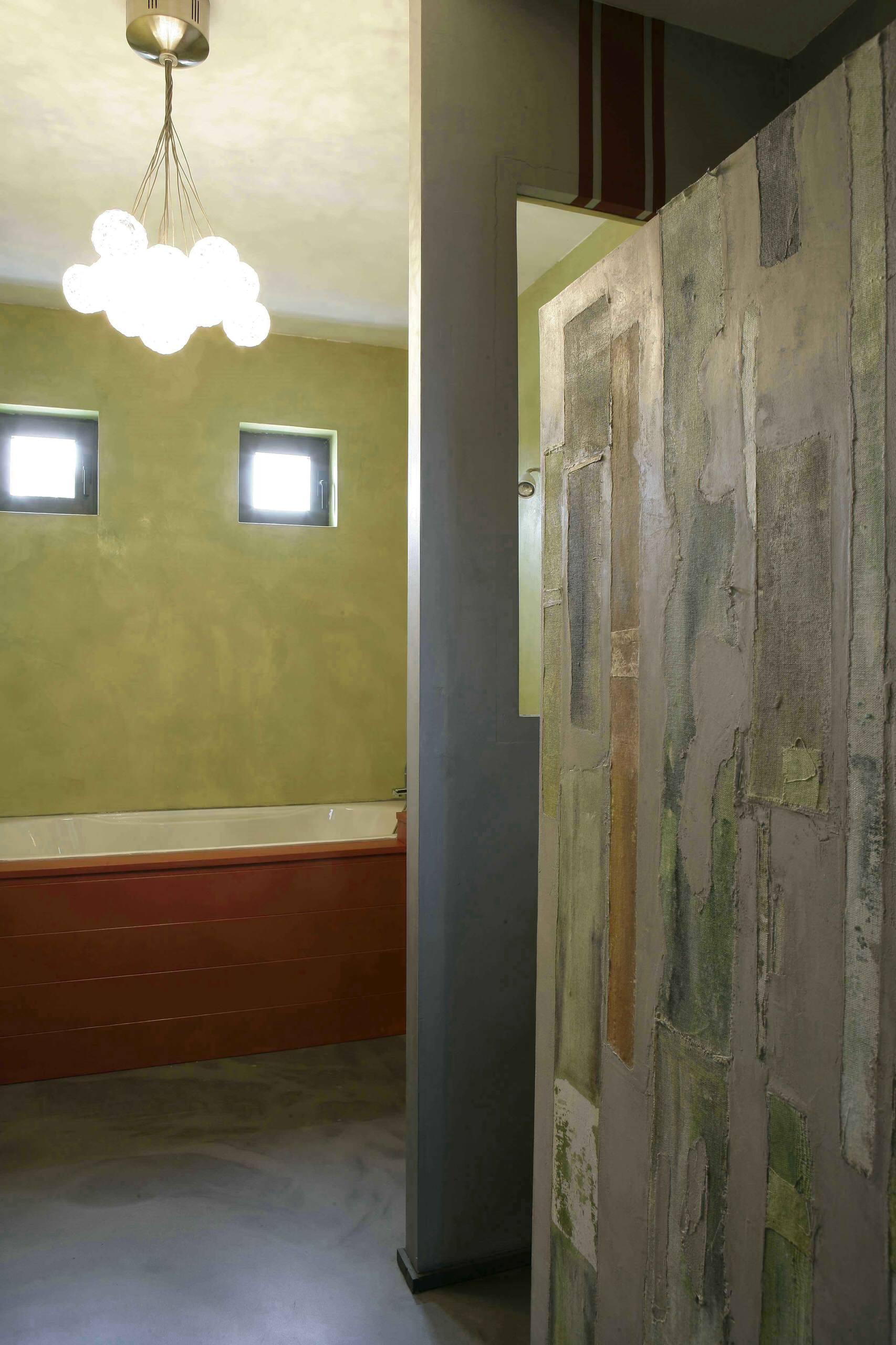 Oeuvres murales/salle de bains