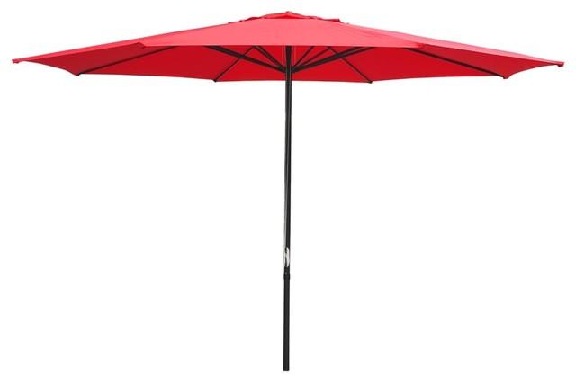 13 Aluminum Patio Umbrella Extra Large Contemporary