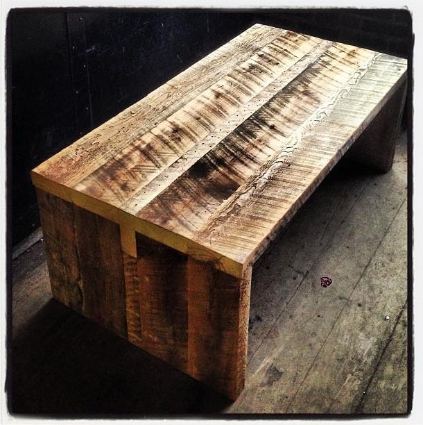 KERF   [RECLAIMED BARN BOARD COFFEE TABLE] Rustic Coffee Tables