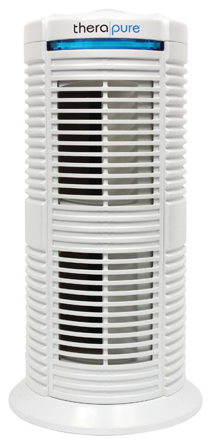 Therapure TPP220M Permanent HEPA Type Air Purifier, White modern-air-  purifiers