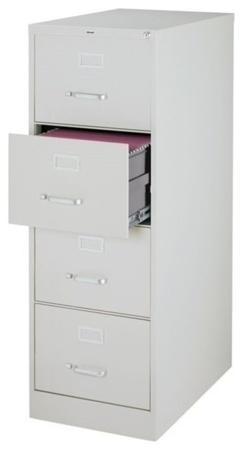 4 Drawer Legal File Cabinet In Gray
