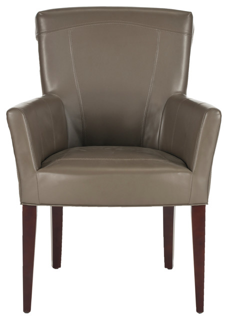 Safavieh Dale Arm Chair Transitional Armchairs And