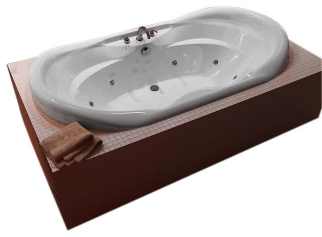 atlantis tubs 4170idl indulgence 41x70x23 inch whirlpool jetted bathtub - Jetted Bathtub