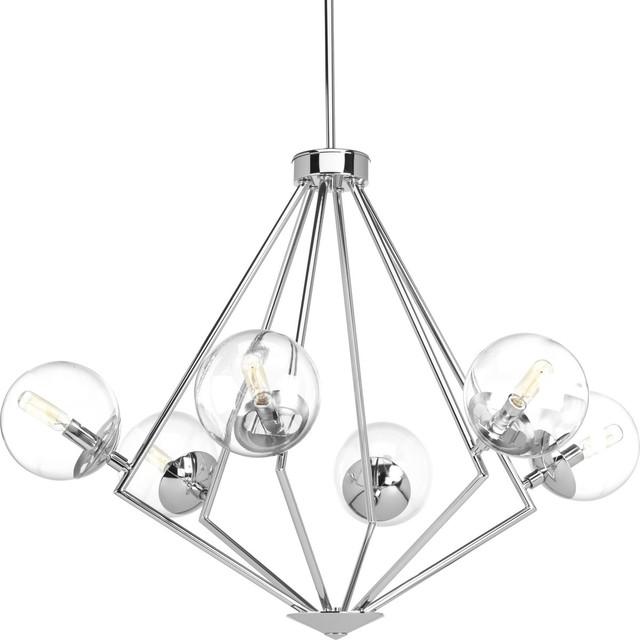 Progress Lighting Mod 6-Light Chandelier